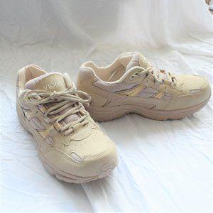 Beige Vionic Walker Sneaker Running Shoes (Size 8)